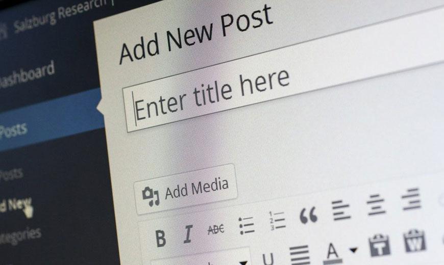 Creación de contenido Blog Redes sociales